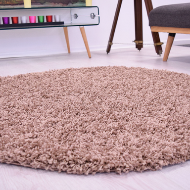 Circle Shaggy Rug | Rug Masters | Free UK Delivery
