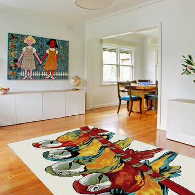 Parrot Rug | Rug Masters | Free UK Delivery