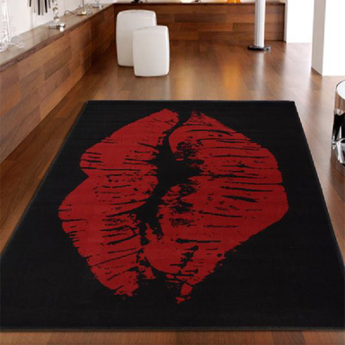 Red Lips Rug | Rug Masters | Free UK Delivery