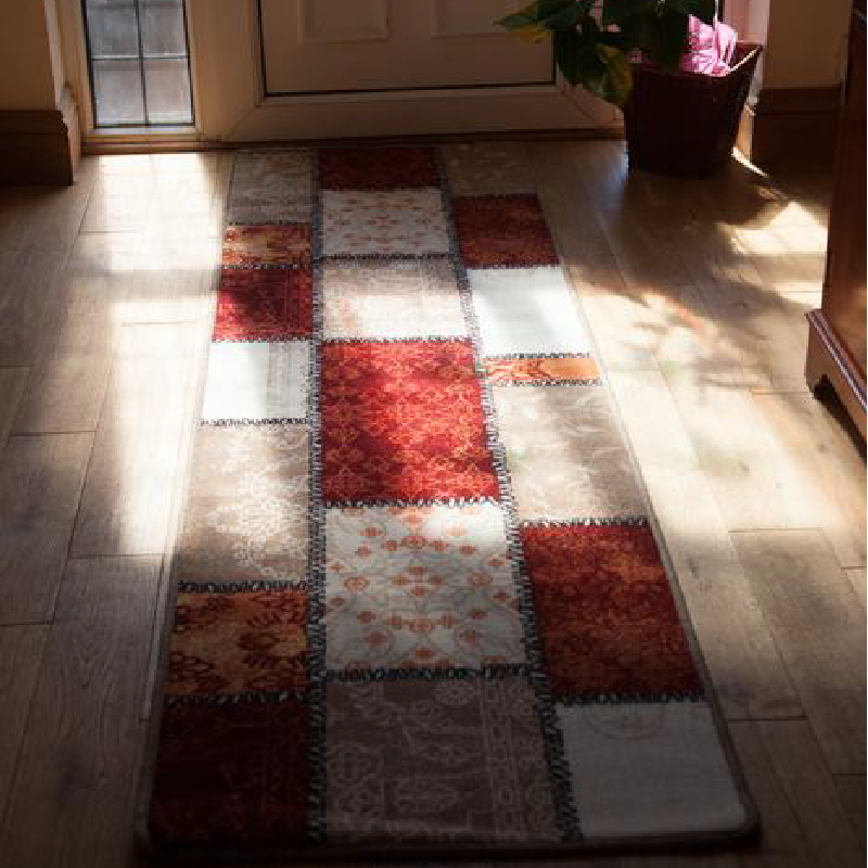 Checkered Kitchen Mat | Rug Masters | Free UK Delivery