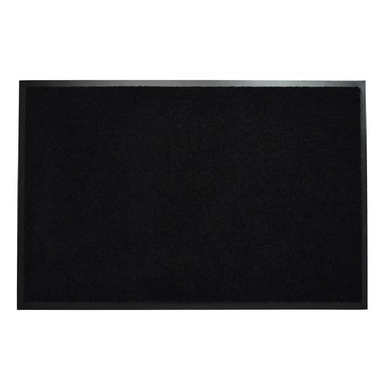 Black Doormat | Rug Masters | Range Of Sizes Available