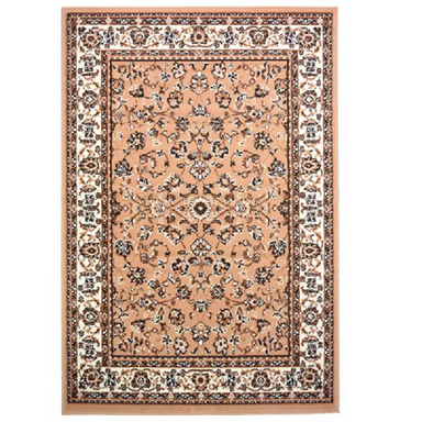Beige Traditional Floral Rug - Texas | Rug Masters