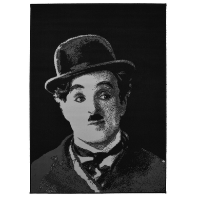 Charlie Chaplin Rug | Rug Masters | Free UK Delivery