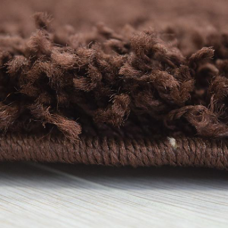 Chocolate Shaggy Rug | Rug Masters | Size Range Available