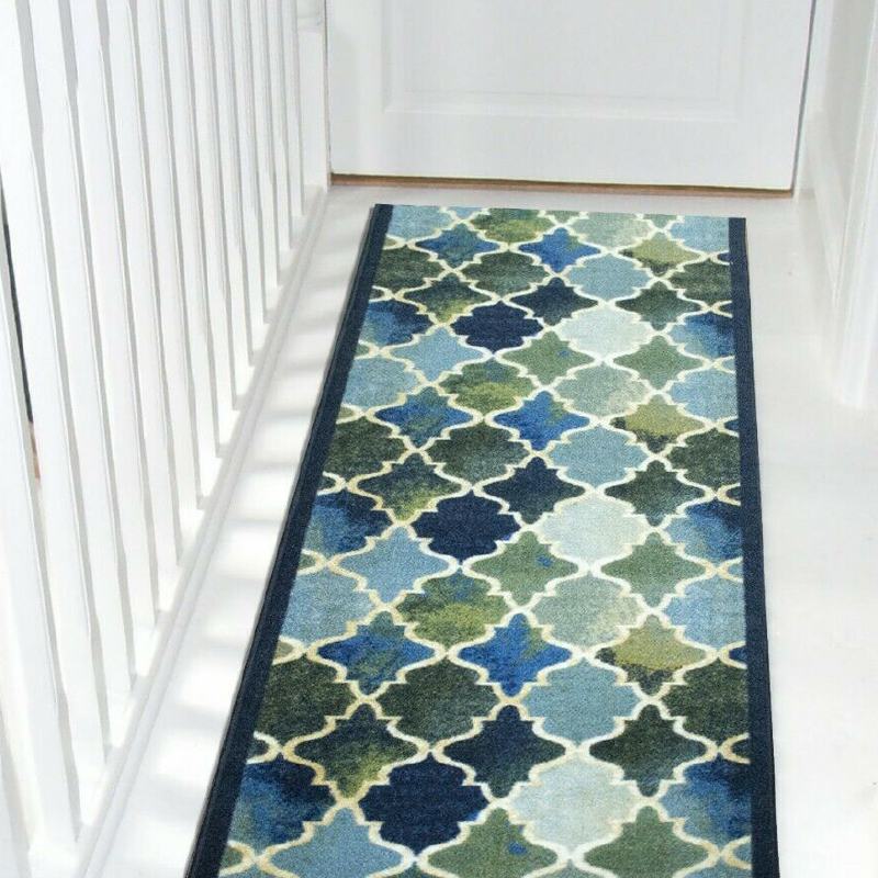 Blue Stair Runner | Rug Masters | Custom Sizes Available