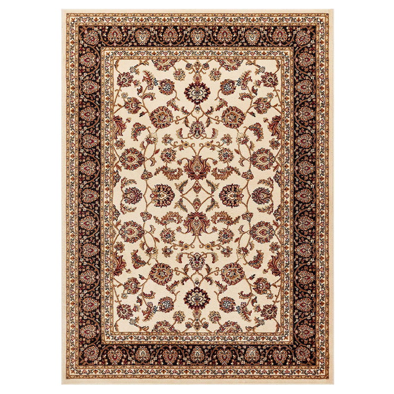 Ivory Traditional Floral Rug - Virginia - Rug Masters