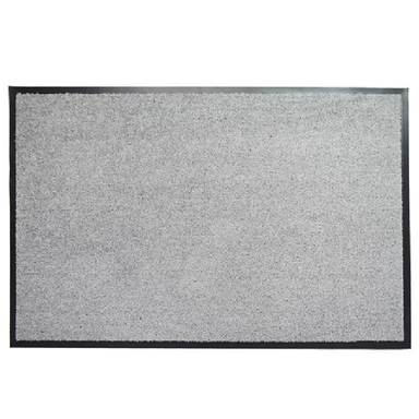 Light Grey Doormat | Rug Masters | Range Of Sizes Available