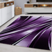 Purple Abstract Rug | Rug Masters | Free UK Delivery