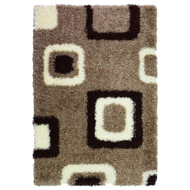 Beige Shaggy Rug | Rug Masters | Range Of Sizes Available