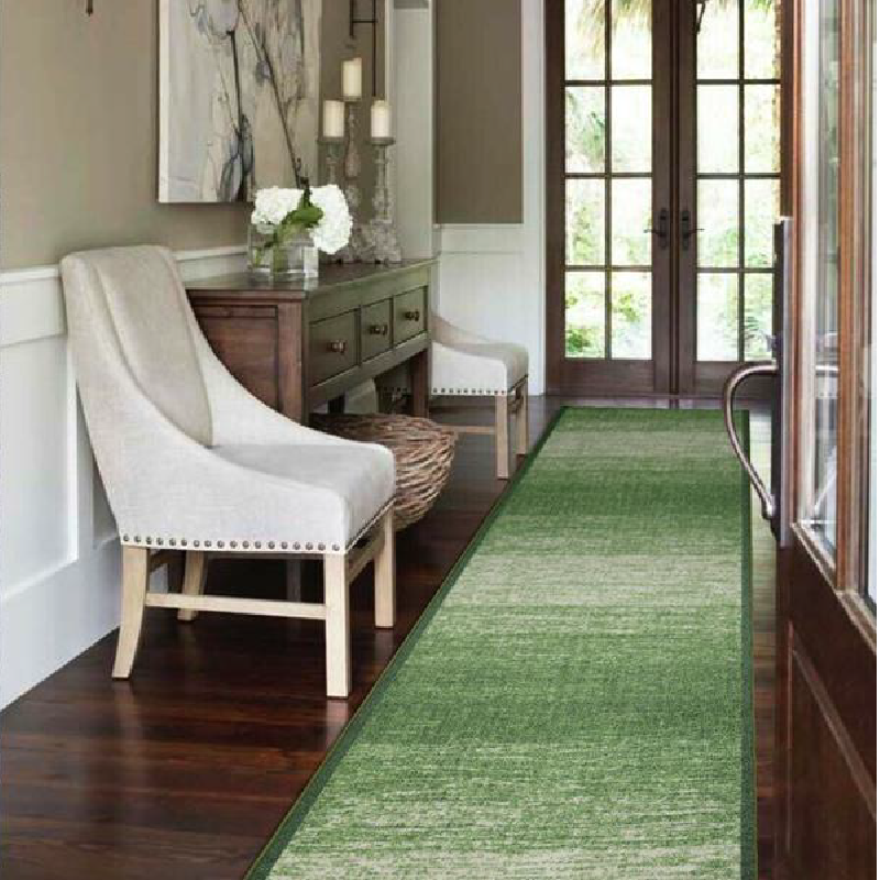 Green Stair Runner | Rug Masters | Custom Sizes Available