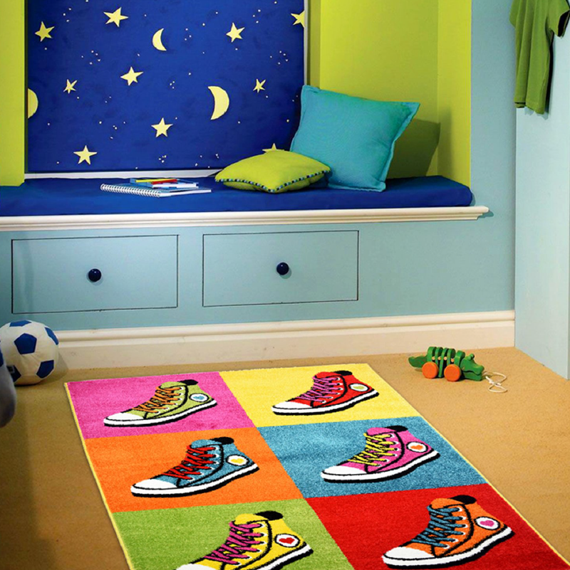 Shoes Rug | Rug Masters | Kids Rugs And Mats