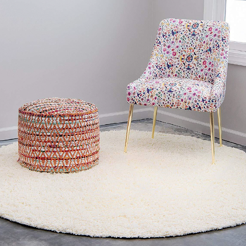 Circle Shaggy Rug | Rug Masters | Size Range Available
