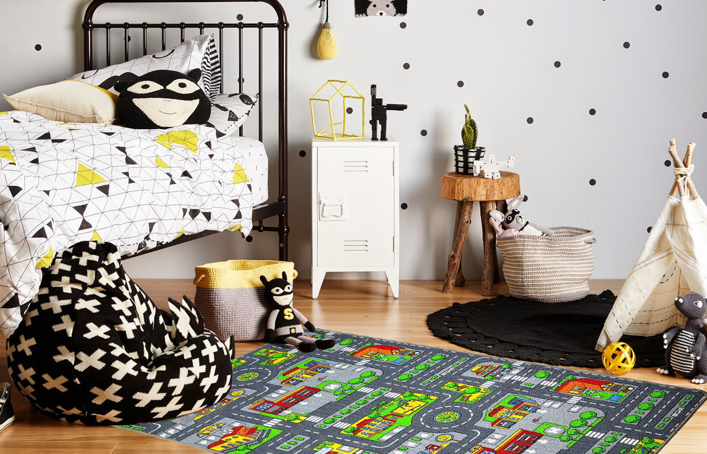 City Playmat | Rug Masters | Free UK Delivery