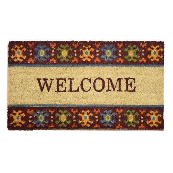 Goa Coir Mat - Welcome