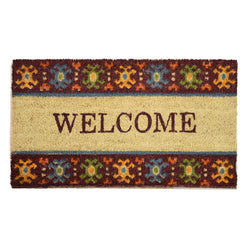 Goa Coir Mat - Welcome - Rug Masters