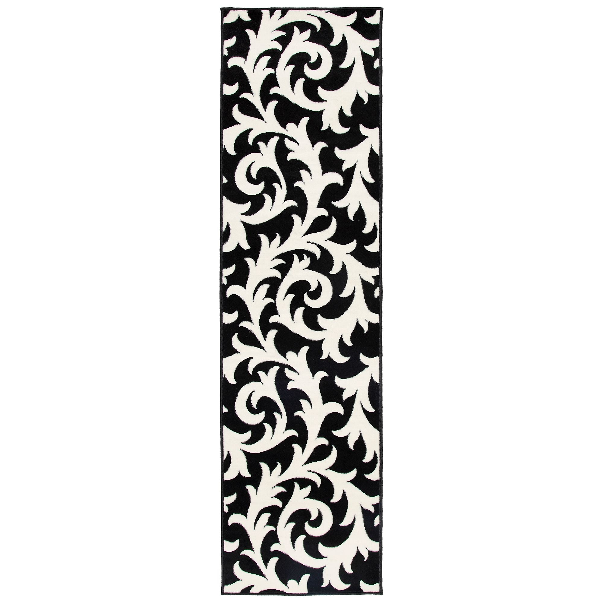 Black And White Runner | Rug Masters | Free UK Delivery