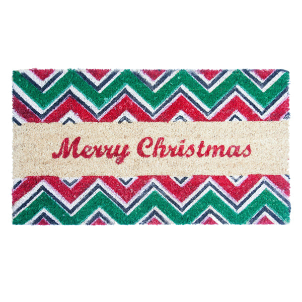 Xmas Coir Mat | Rug Masters | Free UK Delivery