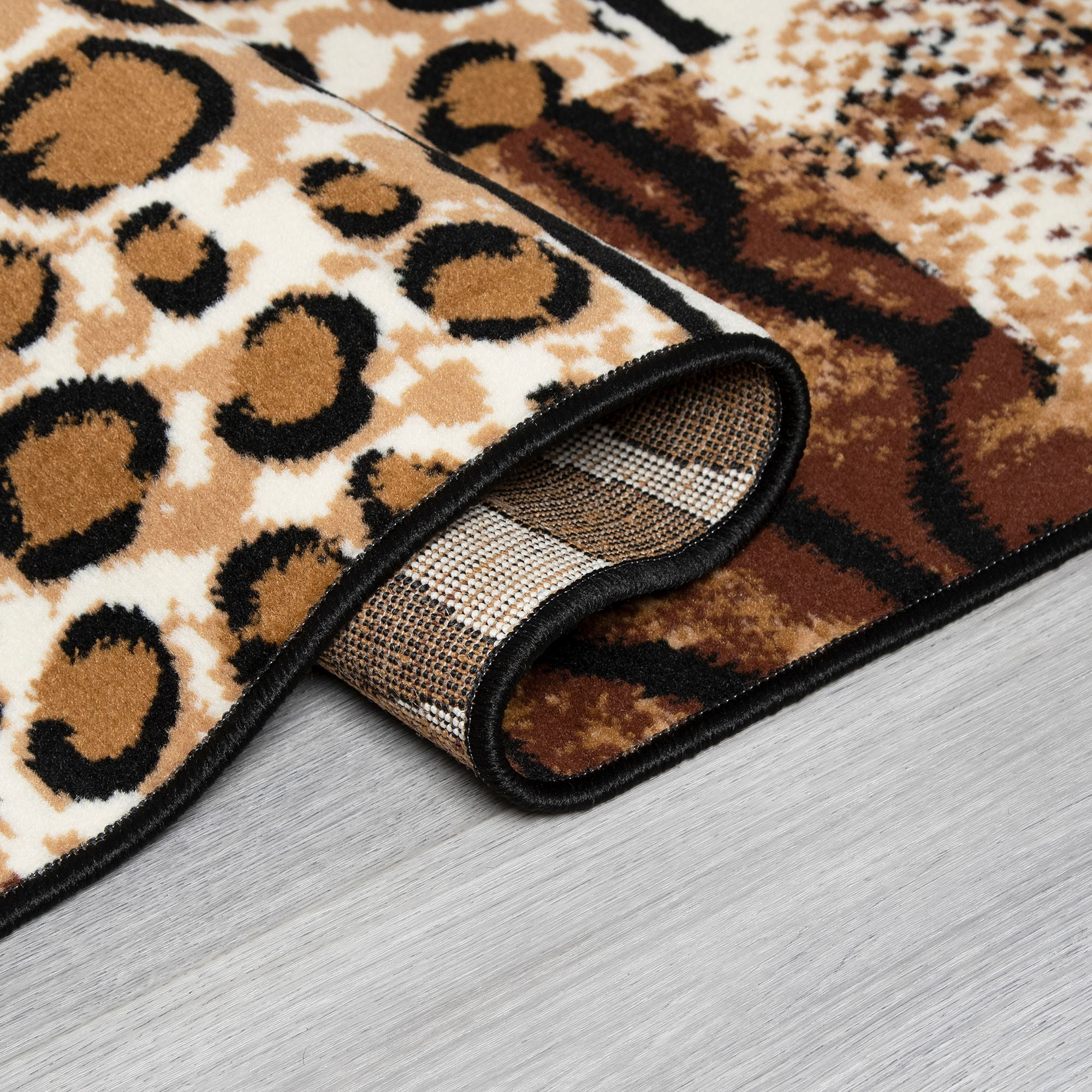Animal Print Stair Runner | Rug Masters | Free UK Delivery