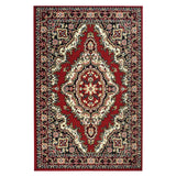 Medallion Red Traditional Rug - Rug Masters