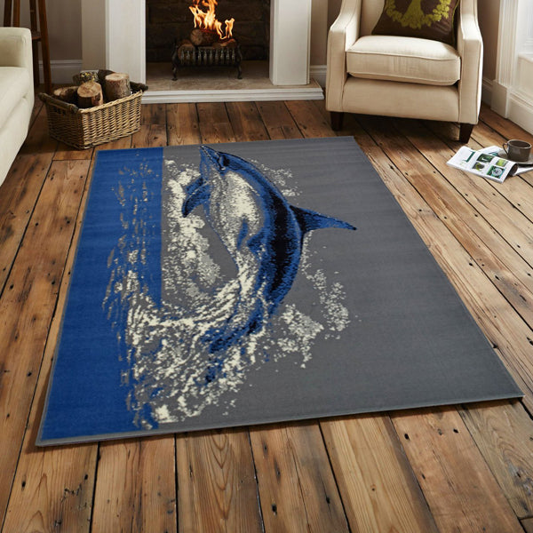 Dolphin Rug | Rug Masters | Free UK Delivery
