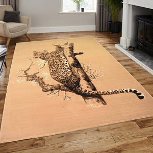 Cheetah Animal Print Rug