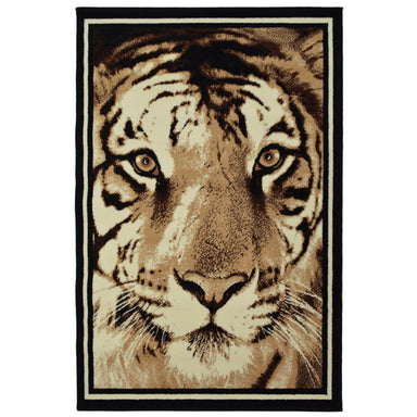 Tiger Face Rug | Rug Masters | Free UK Delivery