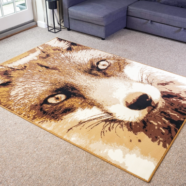 Fox Rug | Rug Masters | Free UK Delivery