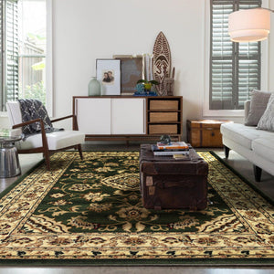 Indiana Sherboune Green Rug