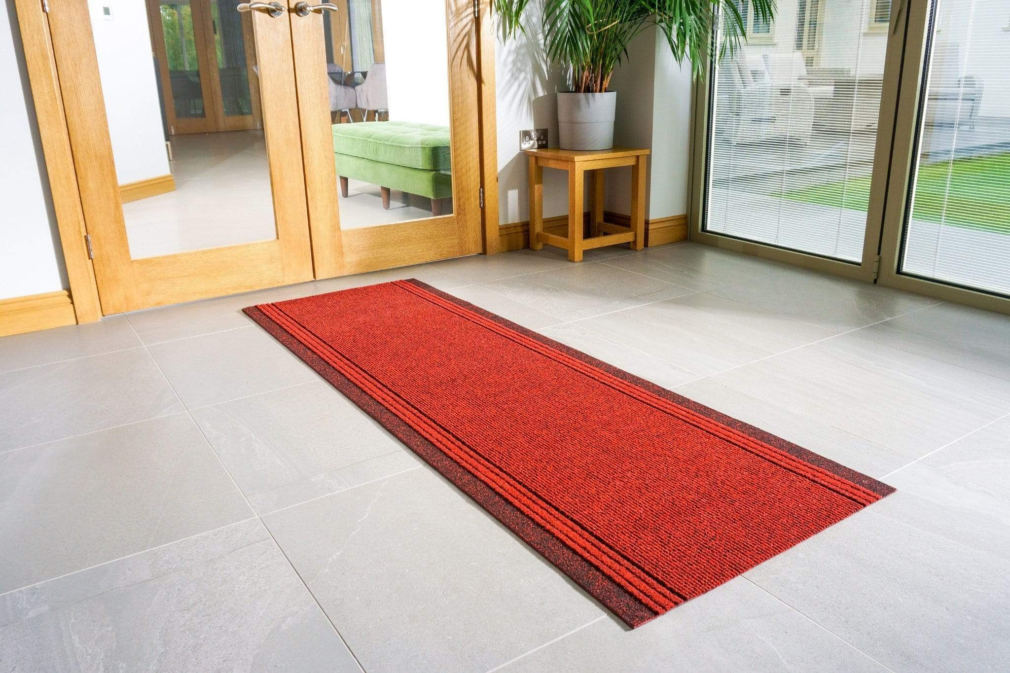 Red Stair Runner | Rug Masters | Custom Sizes Available