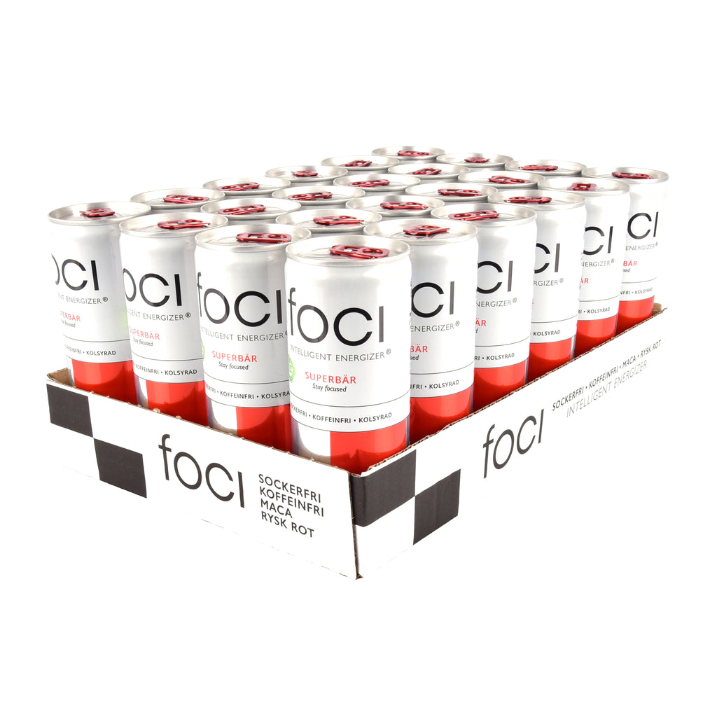 24 x Foci Superbär, 250 ml