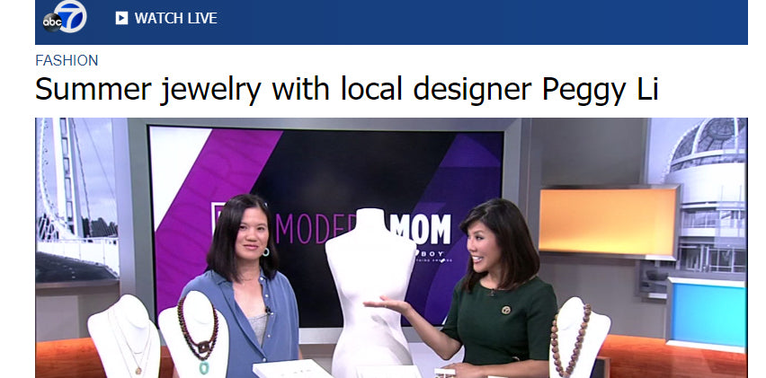 Summer Jewelry Tips on ABC7 Midday Live