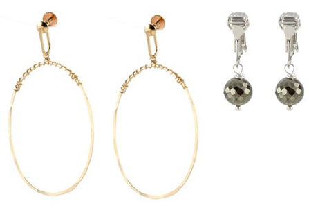 The Best Clip On Earring Options