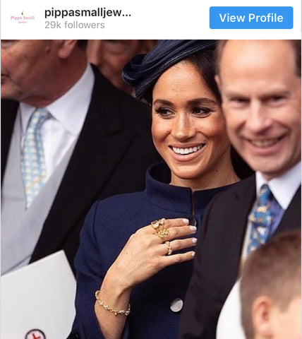 Meghan Markle Pippa Small jewelry