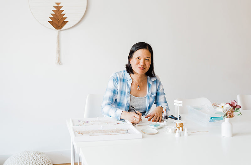 San Francisco jewelry designer Peggy Li