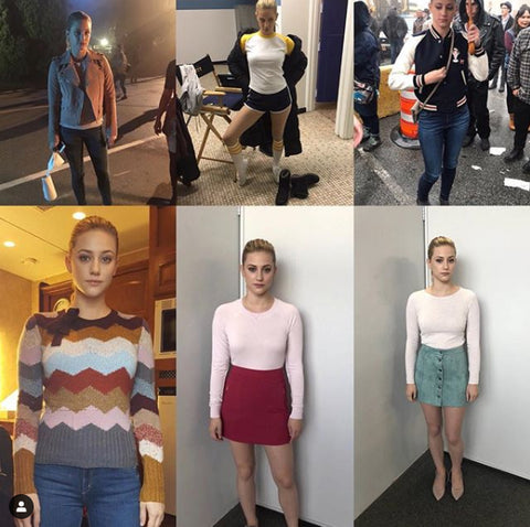 Betty Cooper costume design