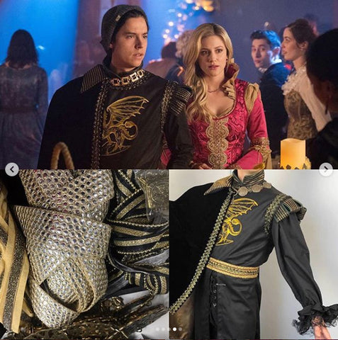 Prom Night Riverdale costume design