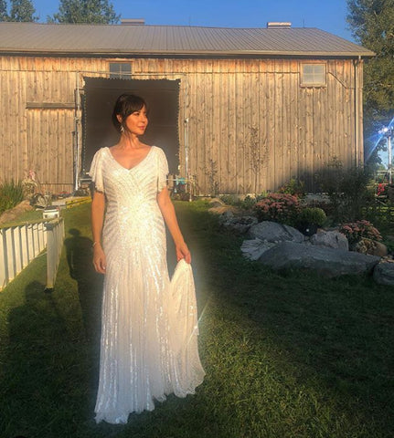 Cassie The Good Witch wedding gown