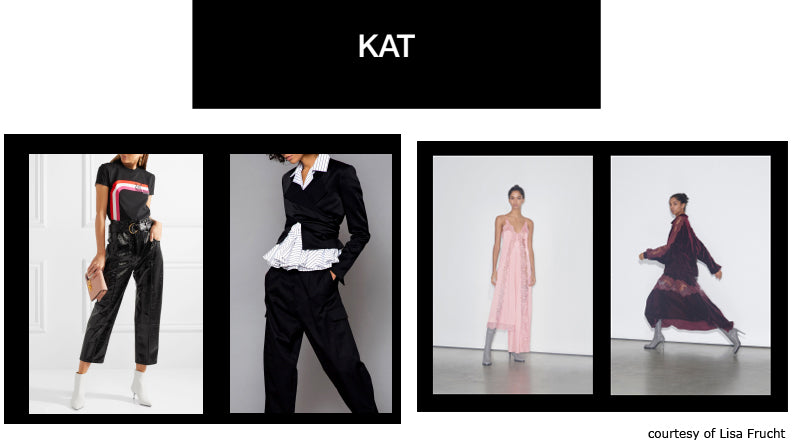 Kat inspiration board The Bold Type