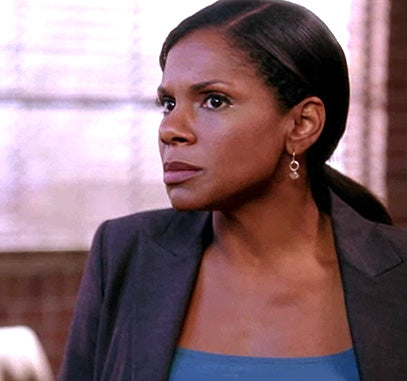 Audra McDonald herkimer earrings