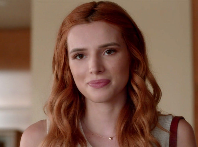 Star Charm Necklace seen on Bella Thorne
