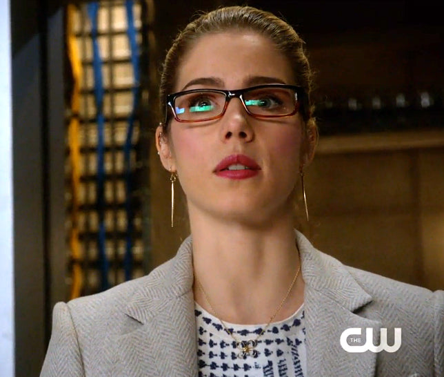 Felicity Smoak Large Quill Earrings Arrow
