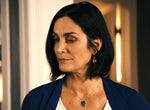 Carrie Ann Moss blue necklace
