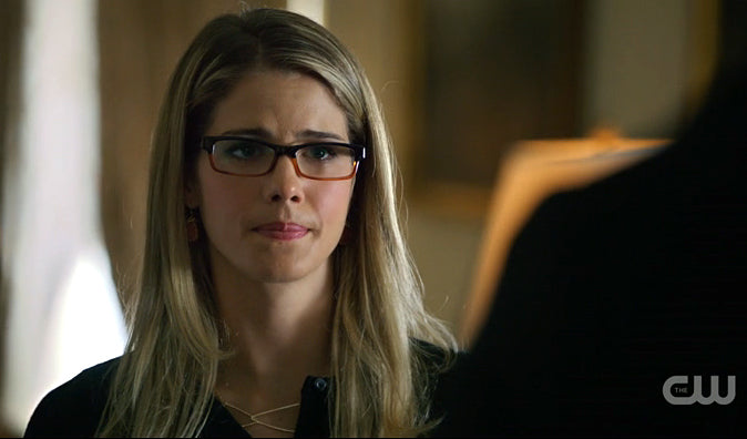 Felicity Smoak Arrow Cornered Geo Necklace
