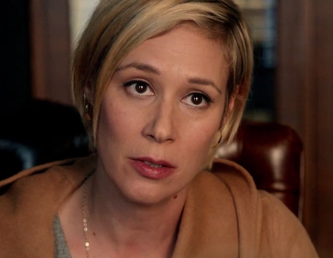 Liza Weil as Bonnie on HTGAWM wearing Small Tribal Spike earrings