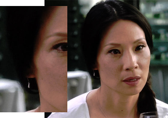 Lucy Liu Droplet Earrings Elementary