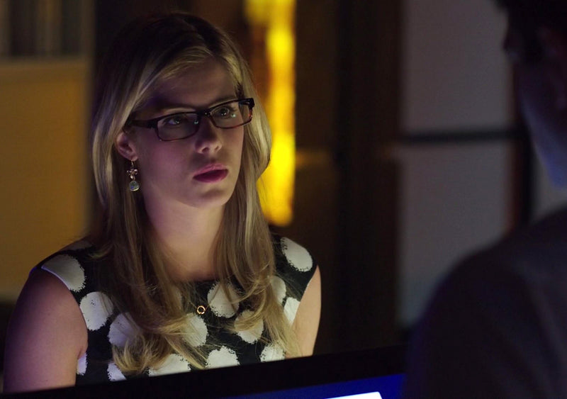 Felicity Smoak Clustered Circle Necklace