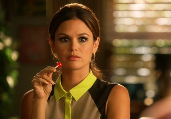 Ox Zipper Earrings on Zoe Hart (Rachel Bilson) on Hart Dixie