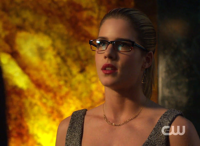 Felicity Smoak Hearts Necklace seen on Arrow