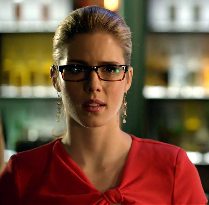 Gemstone Earrings Felicity Smoak Arrow