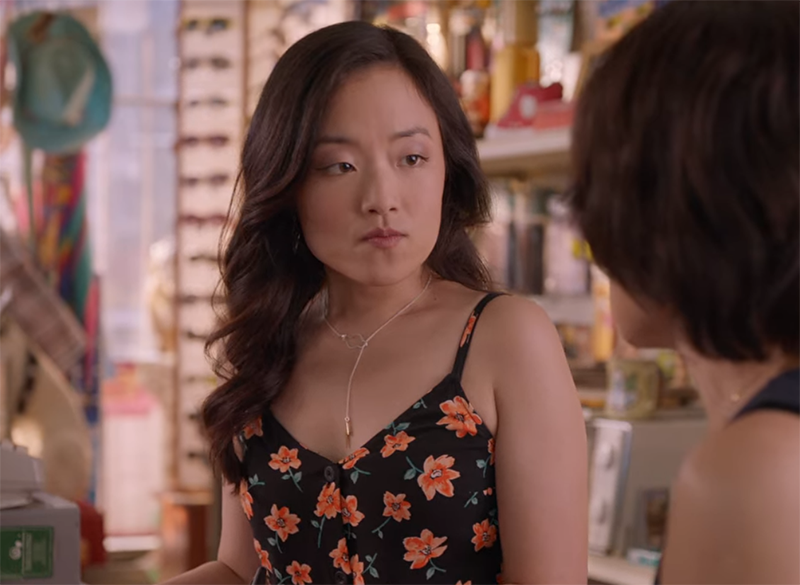 Andrea Bang Kim's Convenience cloud necklace